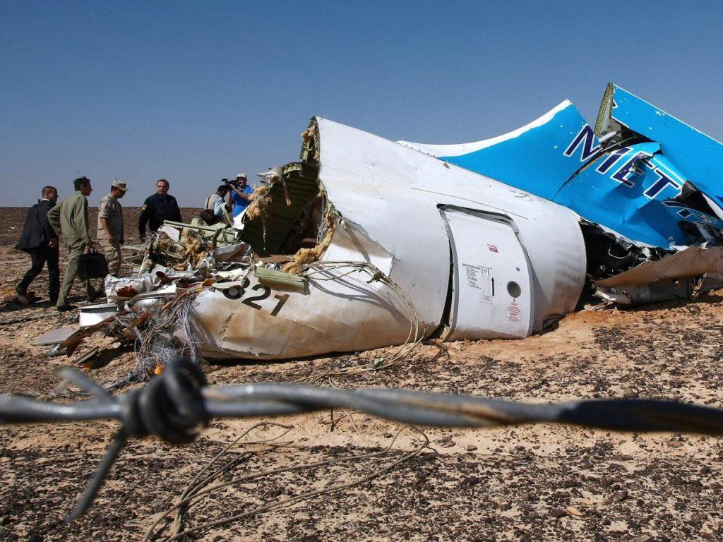 Mısır: Rus Uçağını Teröristler Düşürdü
