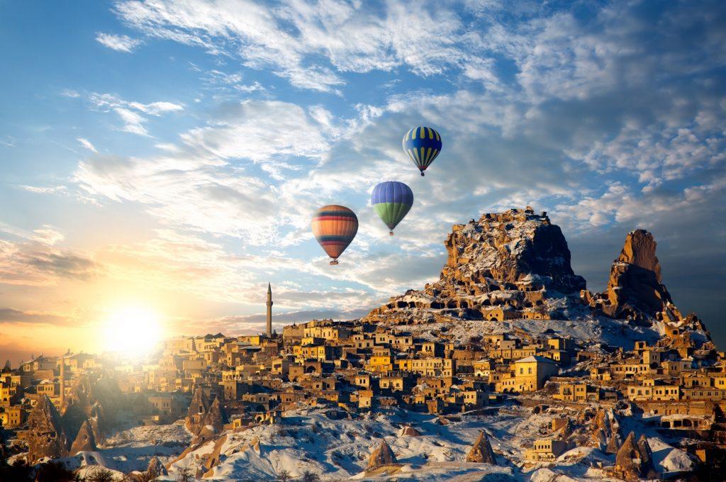 Toprakla Rüzgarın Uyumu Kapadokya
