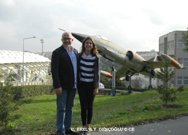 Burs Kazanan Uçak Mühendisliği Öğrencileri