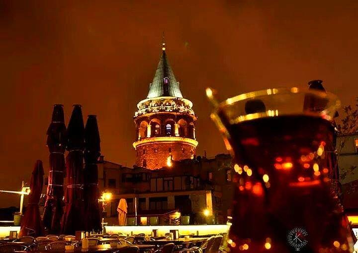 İstanbul'da Gezilecek Yerler Galata Kulesi