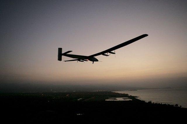 Solar Impulse 2  Test Uçuşunda