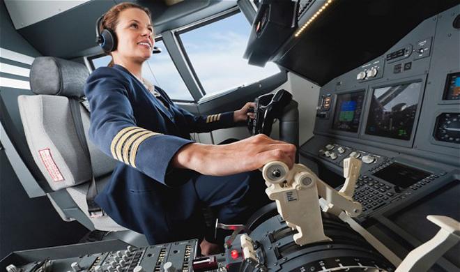 Türk Hava Yolları Kadın Pilotlar Rekor Kırdı