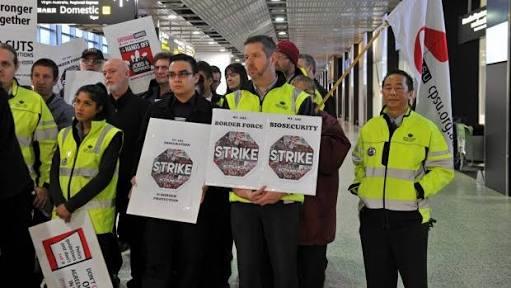 Avustralya'da grevler devam ediyor
