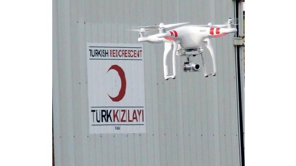 Kızılay drone ile afet yönetecek
