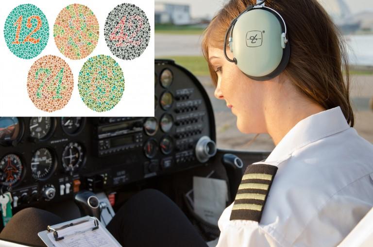 Renk körlüğü pilot olmaya engel mi?