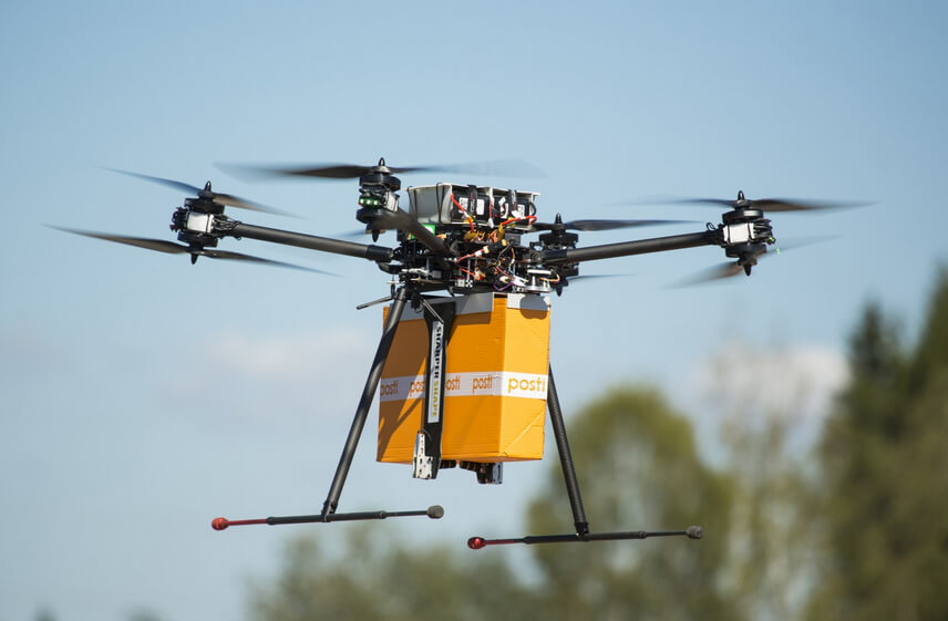 Postacı drone !