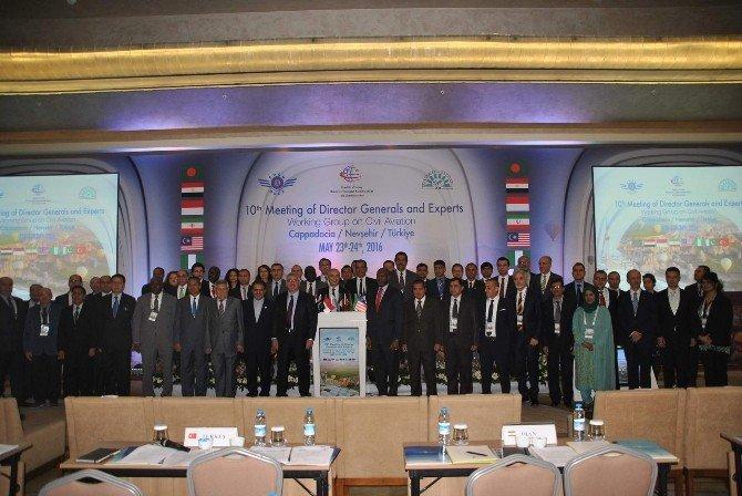 D-8 Ülkeleri Sivil Havacılık Toplantısı Düzenledi