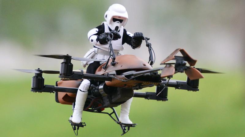 Drone' lar ve kullanım alanları