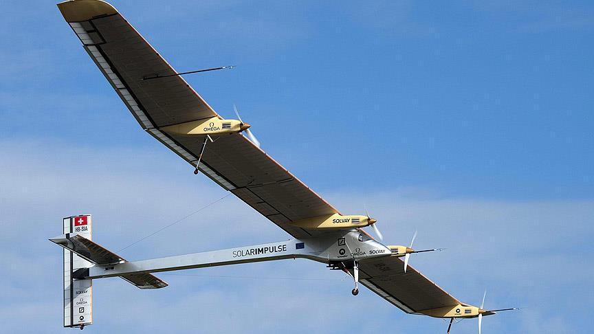 """Yakıtsız Uçak """"Solar Impulse"""" Karşınızda"""