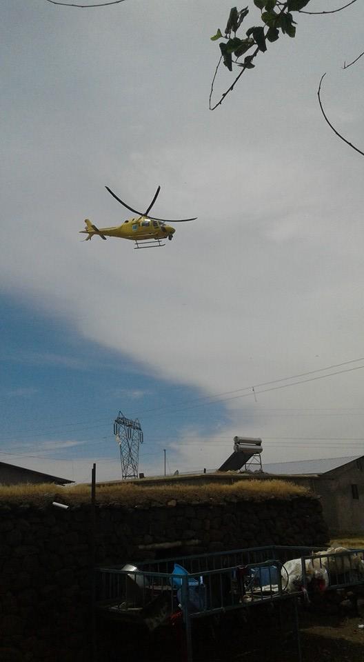 Urfa'da Bir Helikopter Alçak Uçuş Yaptı!