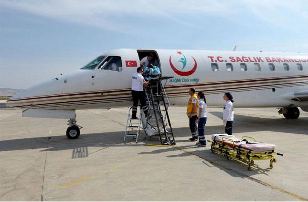 Ambulans Uçak Türk Öğrenci İçin Havalandı!