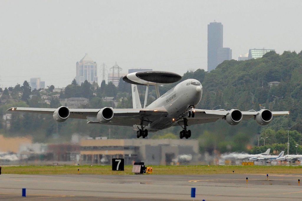 Suudi AWACS Uçağı Modernize Edildi