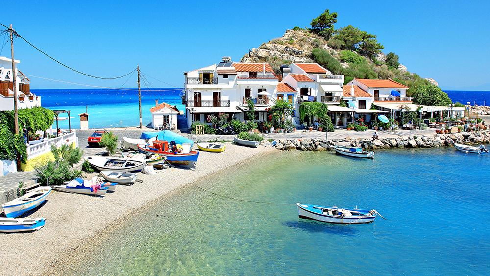 2016'nın En Popüleri Samos Adası