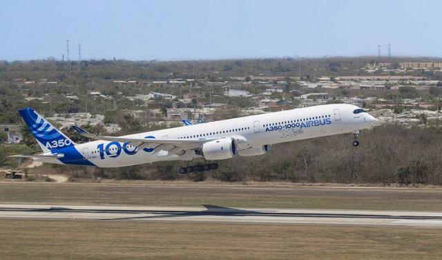 A350-1000'e FAA ve EASA'dan Onay