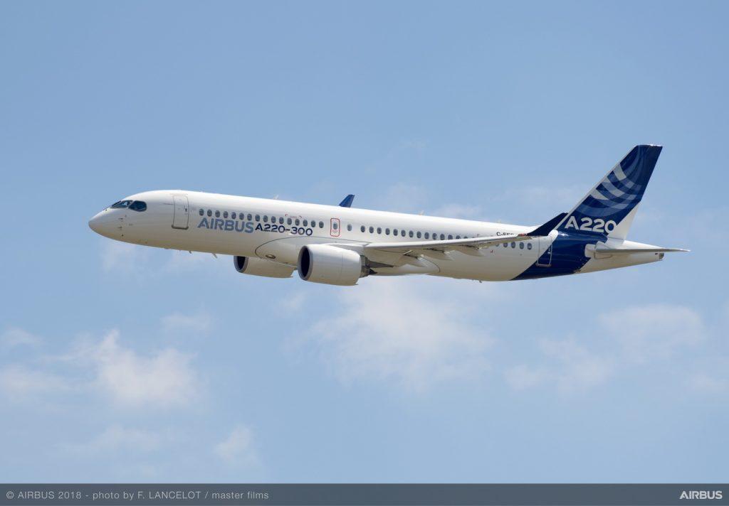 Airbus'tan yeni A220-100 ve A220-300